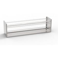 Полка навесная для сушки посуды ПНСП-2П-Т+С -  цена от