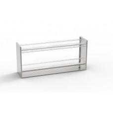 Полка навесная для сушки посуды ПНСП-2П-Т -  цена от