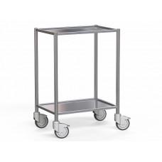 Стол из нержавеющей стали на колесах - цена от