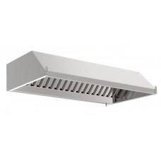 Зонт вытяжной пристенный для высоких потолков с фильтром - цена от