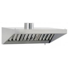 Зонт вытяжной пристенный с фильтром 1200*900*350 мм - цена от